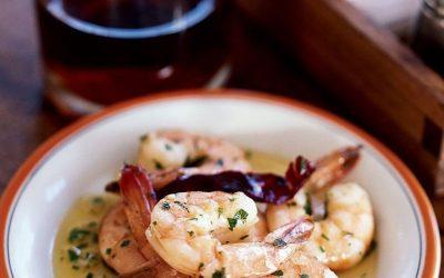 Garlic Shrimp with Olive Oil