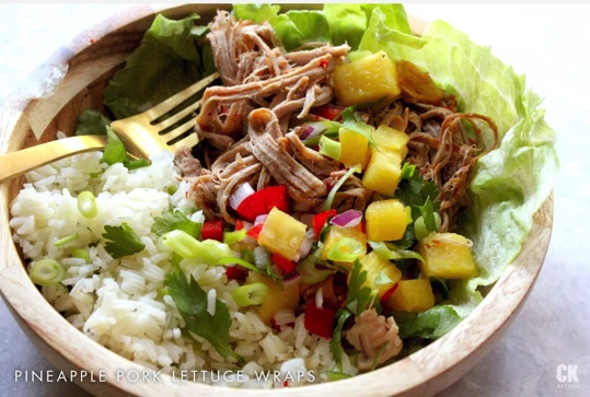 Slow Cooker/Instant Pot Pineapple Pork