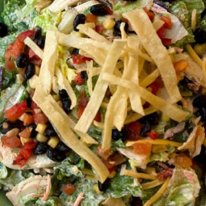 Chipotle Dark Chocolate Southwest Chicken Salad